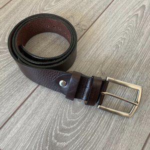 Bench Craft Leather Brown Belt
